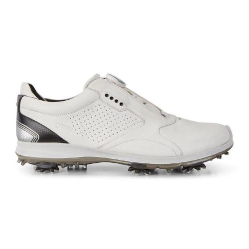 Ecco Mens Biom G2 Boa Goretex Golf Shoes White Black