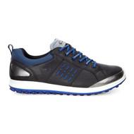 Ecco Mens Biom Hybrid 2 Goretex Golf Shoes Black/Royal