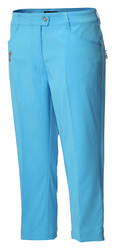 JRB Ladies Capri Cropped Golf Trousers 2017 Colours + FREE Socks