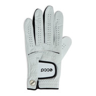 Ecco Men's Leather Golf Glove White Black Left Hand XL