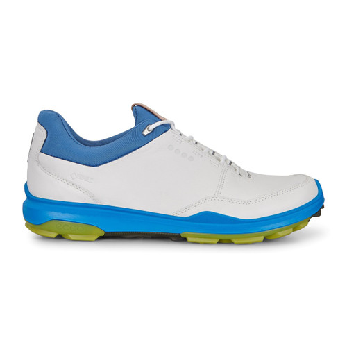 Ecco Mens Biom Hybrid 3 Goretex Golf Shoes White Kiwi - New for 2018