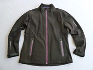 Benross X-Tex Ladies Waterproof Jacket Black Purple Size 12
