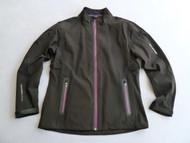 Benross X-Tex Ladies Waterproof Jacket Black Purple Size 14