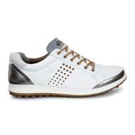 Ecco Mens Golf Biom Hybrid 2 White/Mineral