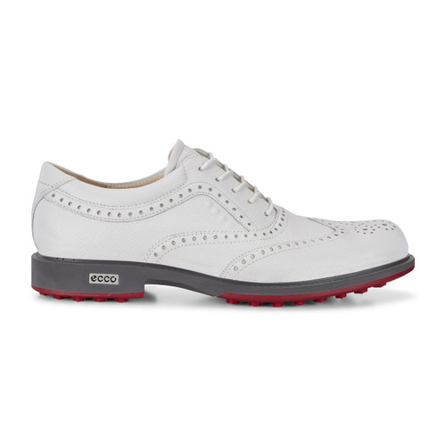 Ecco Mens Tour Hybrid Golf Shoes White