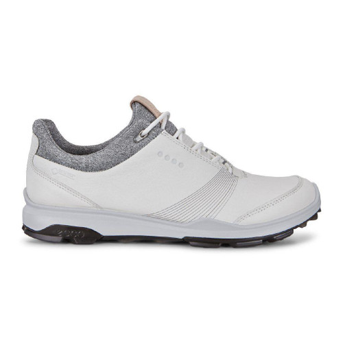 Ecco Women's Biom Hybrid 3 Goretex Golf Shoes White Black