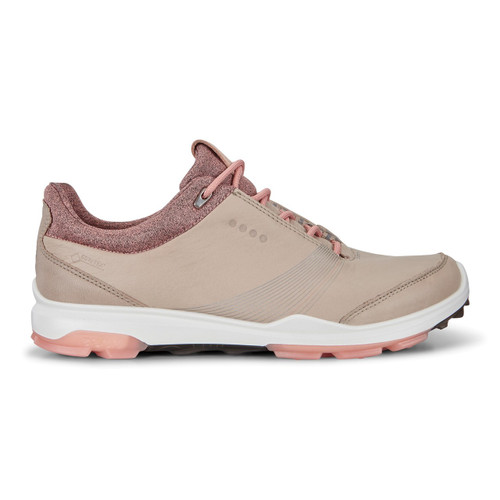 Ecco Women's Biom Hybrid 3 Goretex Golf Shoes Oyster Muted Clay