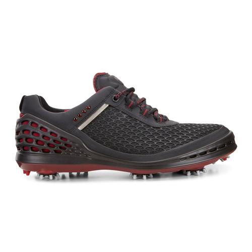 Ecco Mens Cage Golf Shoes Black Brick