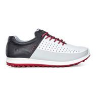 Ecco Mens Biom Hybrid 2 Golf Shoes White/Concrete/Black