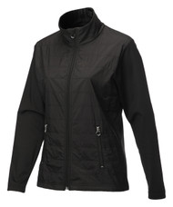 JRB Ladies Windproof Golf Jacket Black