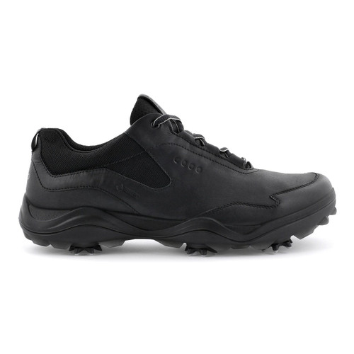 Ecco Mens Golf Strike Goretex Shoes Black