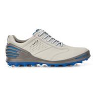 Ecco Mens Cage Pro Golf Shoes Concrete Blue