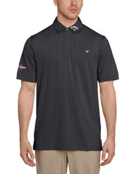 Callaway Mens Opti Vent Tour Golf Polo Shirt Caviar