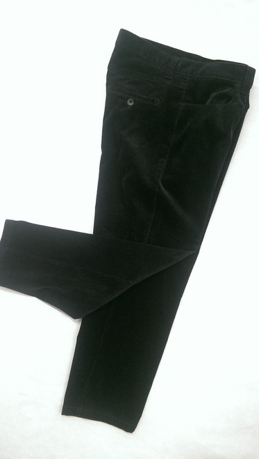 JRB Mens Cord Golf Trousers Black