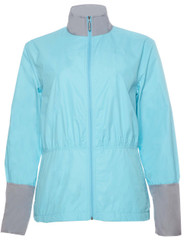 Callaway Womens Anke Windproof Golf Jacket Blue Small