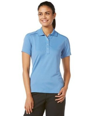 Callway Womens Short Sleeve Golf Polo Azure Blue