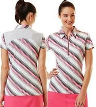 Callway Womens Sky High Golf Polo Pink