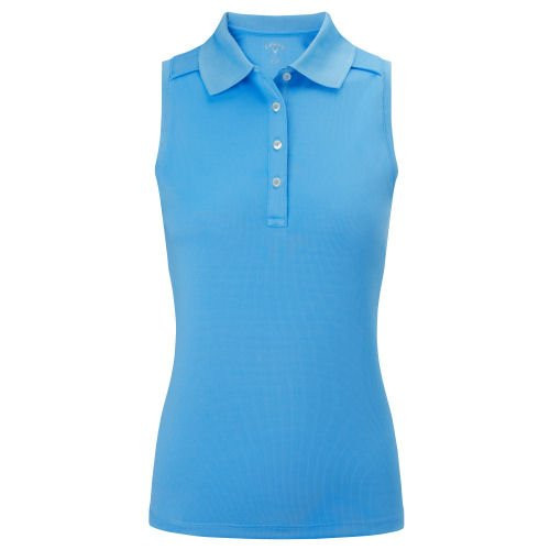 Callaway Womens Opt-Dri Sleeveless Golf Polo Small
