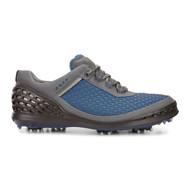 Ecco Mens Cage Golf Shoes Bermuda Blue