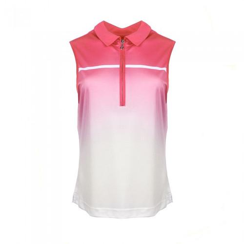 JRB Ladies Sublimation Sleeveless Golf Shirt