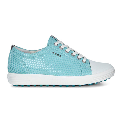 Ecco Womens Casual Hybrid Golf Shoes Aquatic