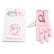 Hello Kitty Ladies Golf Glove Left Hand Pink (Medium)