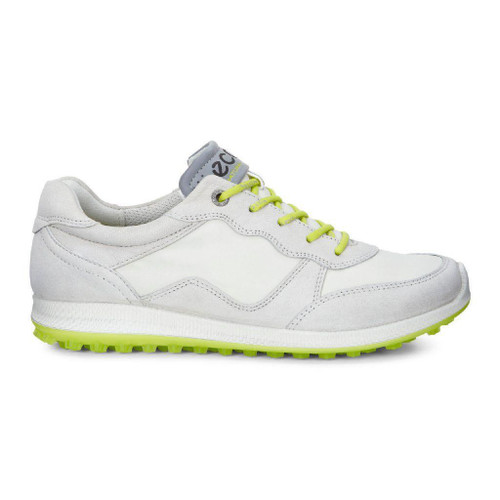 Ecco Womens Biom Hybrid Lite Golf Shoes Gravel Shadow White