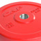45 lb CAP Olympic Rubber Bumper Plate, red
