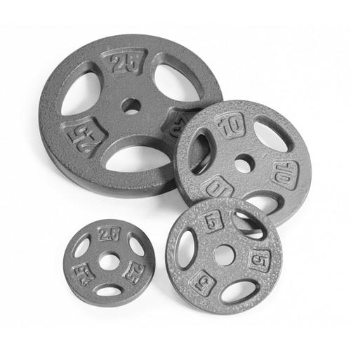 Multiple weights of CAP Standard Grip Plate