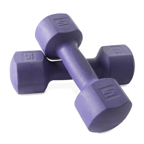 CAP Fitness ECO Dumbbells, 5 lb each