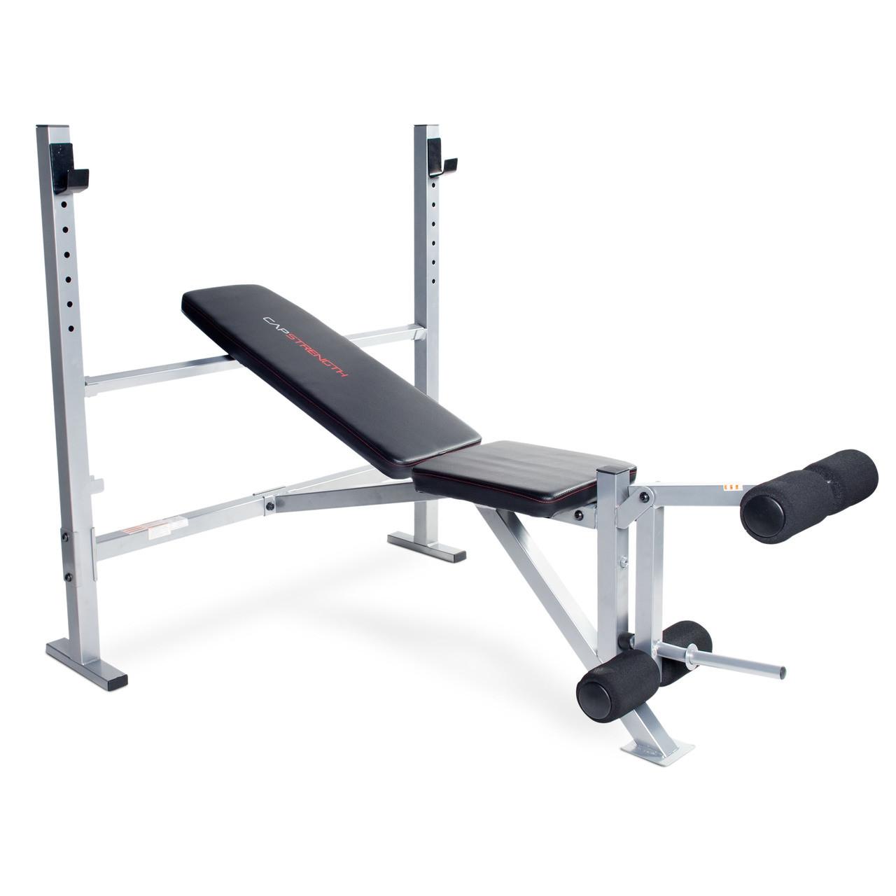 CAP Strength Olympic Bench with Leg Developer (FM-CS7100)