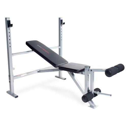 CAP Strength Olympic Bench with Leg Developer