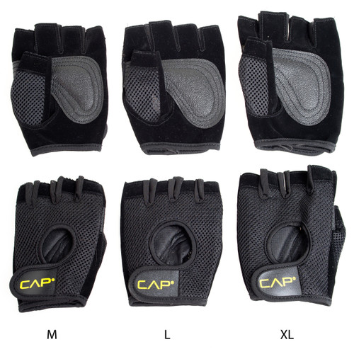 CAP Mesh Weightlifting Gloves different sizes