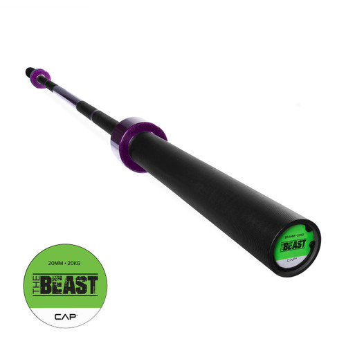 "CAP Custom ""The Beast"" Olympic Lifting Bar, Electric Grape Purple (OB-86B-PL)"