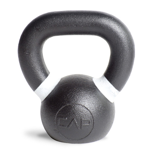 9 lb white CAP Cast Iron Competition Weight Kettlebell