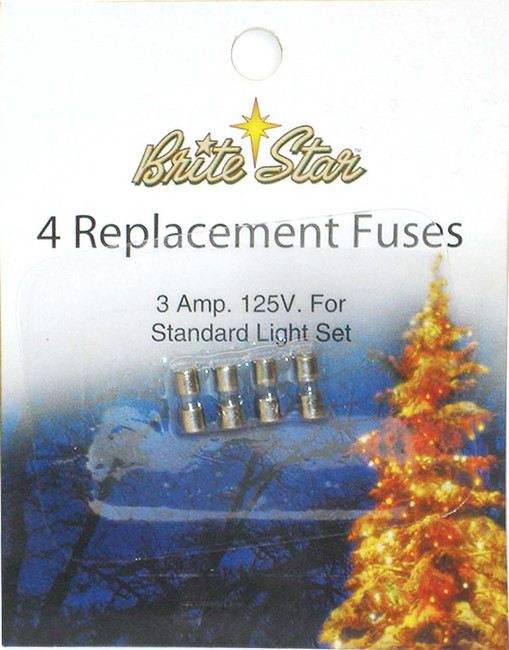 4 ct Fuses for Mini Lights