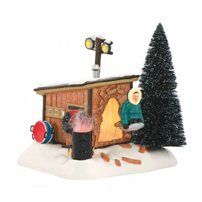 Dept 56 Christmas Vacation Griswold Sled Shack 4042408