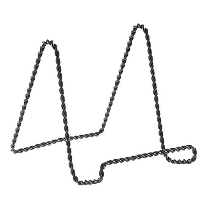 """4"""" Black Twisted Wire Stand 5202-66"""