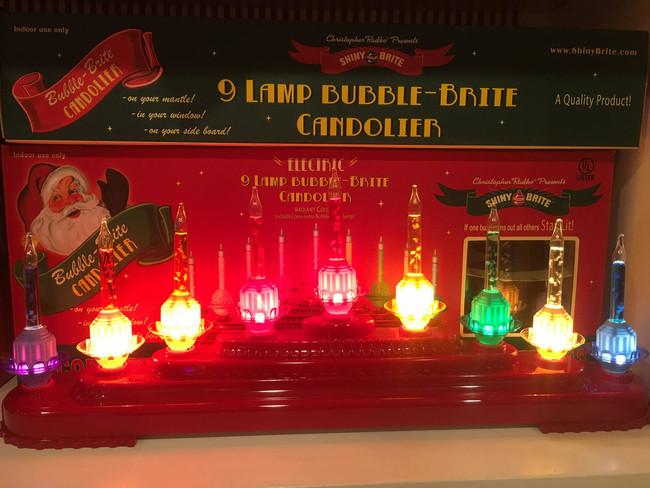 Christopher Radko Shiny Brite Holiday Splendor Bubble Bright Light Candolier 4027505