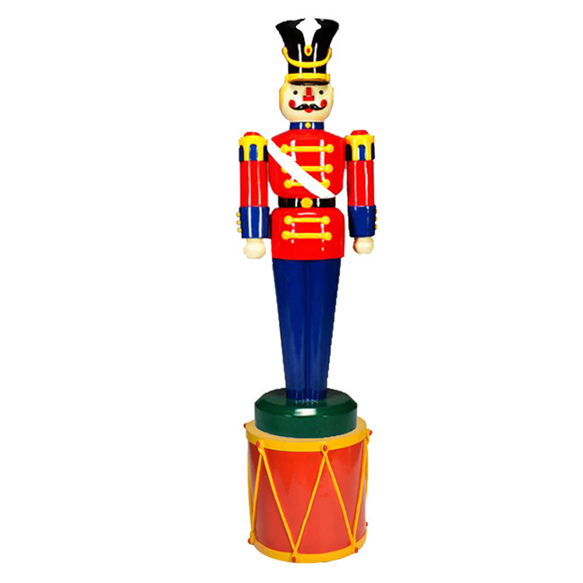 Barcana Commercial Full Body Outdoor Toy Soldier with Drum Stand 55-24015-118