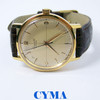 Vintage CYMA CHRONOMETER Gold Winding  Watch 1950s Cal R.446* EXLNT* SERVICED