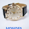 Vintage 14k LONGINES Mens Winding Watch Cal  1960s* EXLNT* SERVICED