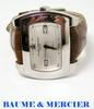 S/Steel Mens BAUME & MERCIER Geneve Automatic Watch 65402* Mint Condition!