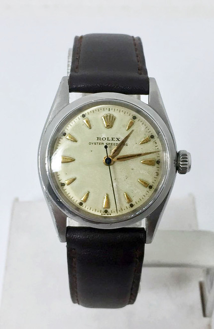 Vintage Mens ROLEX OYSTER SPEEDKING Ref 6420 Winding Watch Cal 1210 c.1954 EXLNT
