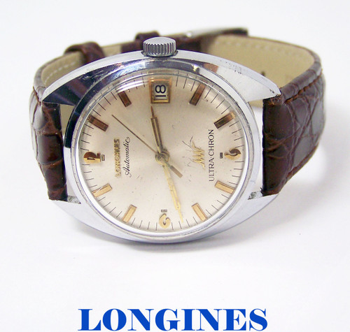Vintage  LONGINES ULTRA-CHRON Mens Automatic Watch Cal 431 1960s* EXLNT