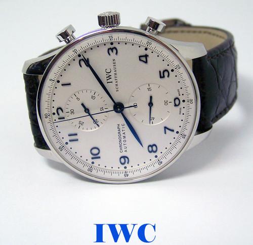 IWC Portugiese Chronograph Automatic Mens watch IW371401* EXLNT* 1 Year Warranty