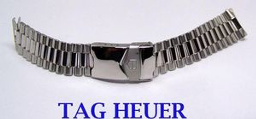 S/Steel TAG HEUER Watch Bracelet for WE 1120-R* 20 mm* MINT Condition