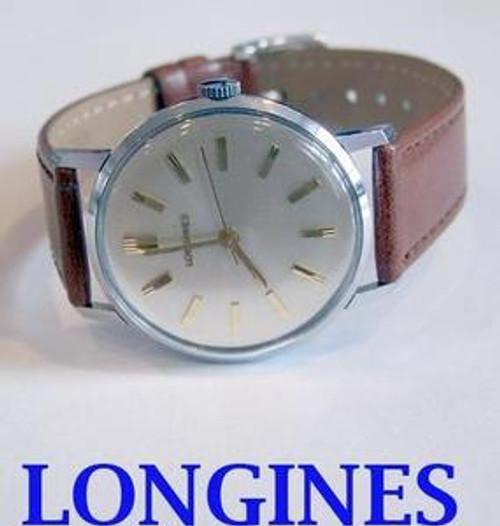 Vintage S/Steel LONGINES 17J  Winding Watch c.1960's* EXLNT Condition* SERVICED