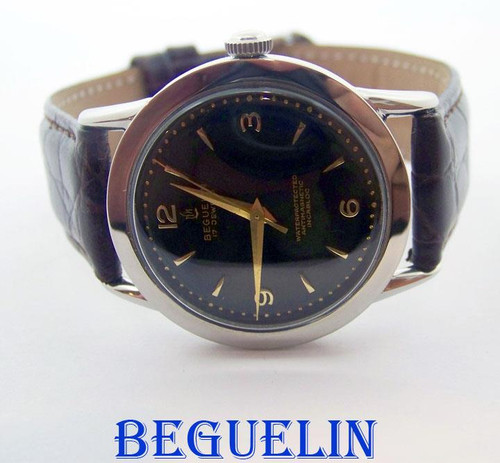 Vintage BEGUELIN 17J Winding Watch c.1950s* EXLNT Condition SERVICED