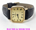18k Gold BAUME & MERCIER Ladies Back Winding Watch Ref.38237* EXLNT SERVICED